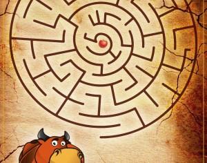 Văcuţa cea vesela – Labirint