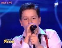 """Andrei Ionescu, micul Pavarotti, câştigător la """"Next Star"""""""