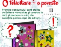 """Concursul de creație pentru copii """"O felicitare – o poveste"""""""