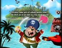 Gaseste comoara cu Piratul Jake – jocuri