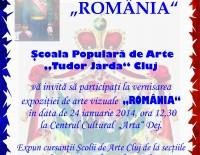 Afis Dej expozitie Romania