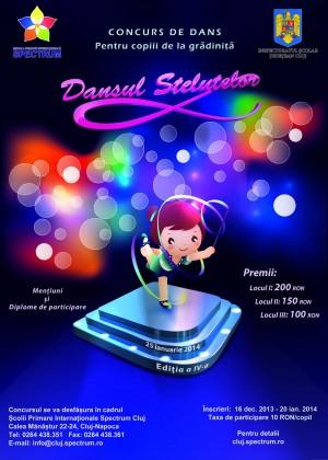 poster dansul stelutelor 2014