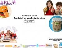 mini pizza publicitate