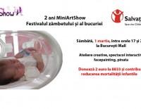2 ani de MiniArtShow: eveniment aniversar în beneficiul Salvați Copiii România