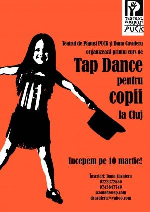 """Teatrul """"Puck"""" şi Dana Cavaleru organizează primul curs de step pentru copiii din Cluj"""