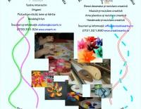 Ateliere de artă și reciclare creativă pentru întreaga familie – la Creart, Bucuresti