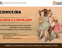CONCURS – Castiga o invitatie la atelierul Primii pasi in Actorie – Atelier pentru copii (4-6 ani), organizat de Scoala de Arte si Maniere, Proiect al Fundatiei Calea Victoriei, Bucuresti
