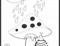 Vine ploaia – uneste punctele