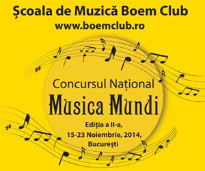 Scoala de Muzica Boem Club_Concurs National Musica Mundi_pian-vioara-canto-chitara