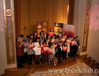 """Concertul  """"Iarna Muzicala"""" a marcat 5 ani de lectii de muzica de calitate pentru Boem Club"""