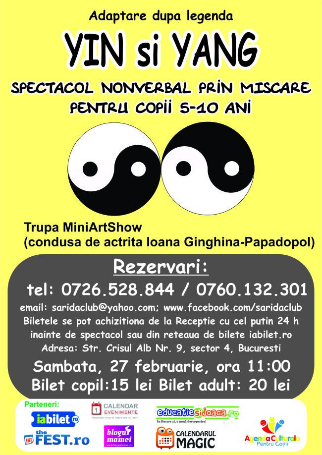 spectacol 27 februarie yin si yang