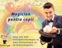 Cristian Gună, magicianul de la Fantasmagia pentru copii. Cluj.