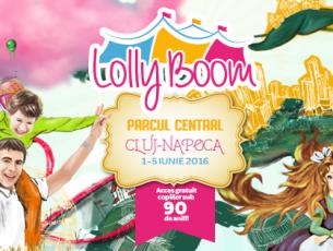 Festivalul LollyBoom dă startul distracției